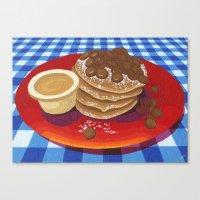 Pancakes Week 4 Canvas Print