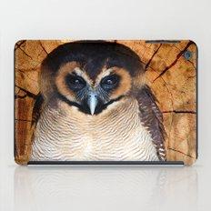 Asian wood Owl iPad Case