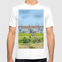 The Turnberry Hotel Mens Fitted Tee White SMALL