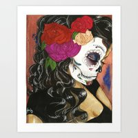 Natural High: Maquillaje… Art Print