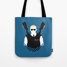Here Come The Fuzz Tote Bag