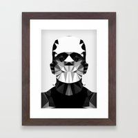 Polygon Heroes - The Horror Framed Art Print