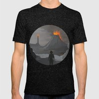 Lord Of The Rings Mens Fitted Tee Tri-Black SMALL
