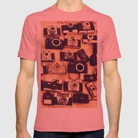 I Love Analogue Photogra… Mens Fitted Tee Pomegranate SMALL