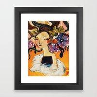 3 wishes Framed Art Print