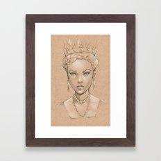Pencil Study Framed Art Print