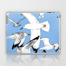 Flying around Laptop & iPad Skin