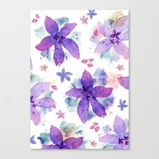 Flower bared Canvas Print