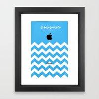 Apple Society Framed Art Print