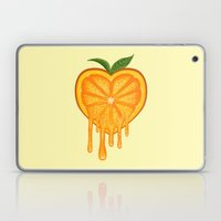 Love Orange Laptop & iPad Skin