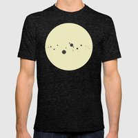Solar System (you are here) Strings Mens Fitted Tee Tri-Black SMALL
