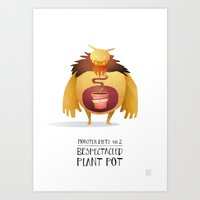 Monster Diets No.2 Art Print