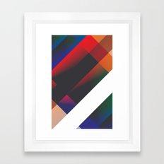 edacious. Framed Art Print