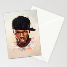50 Cent Stationery Cards