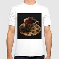 CHEE-TEA   Mens Fitted Tee White SMALL