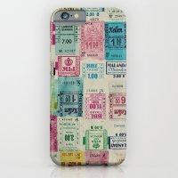 Random Bus Tickets iPhone 6 Slim Case