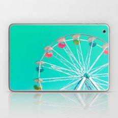 Minty Ferris Wheel Of Ha… Laptop & iPad Skin