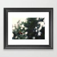 V I S I T O R {X} Framed Art Print