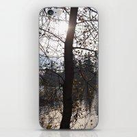 Scenic lake view iPhone & iPod Skin