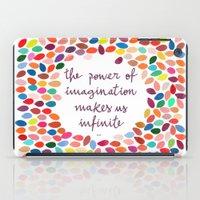 Imagination [Collaboration with Garima Dhawan] iPad Case
