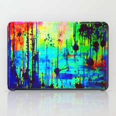 Waterlily Cat tails iPad Case
