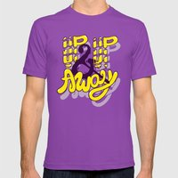 Up Up & Away Mens Fitted Tee Ultraviolet SMALL