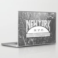 nyc Laptop & iPad Skins featuring NYC by Zeke Tucker