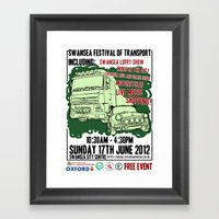 SWANSEA FESTIVAL OF TRAN… Framed Art Print