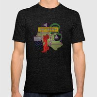 Compensatorial Mens Fitted Tee Tri-Black SMALL