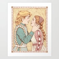 Romeo And Juliet Art Print