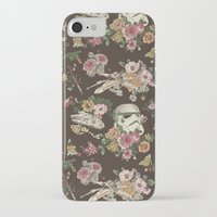 rock iPhone & iPod Cases featuring Botanic Wars by Josh Ln