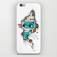Muscle Cat iPhone & iPod Skin