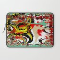 Abstract Funky Pattern Laptop Sleeve