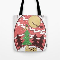 Hello Santa Tote Bag