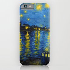 Starry Night Over Cardiff Bay iPhone 6 Slim Case