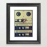 Analogue Recording Framed Art Print