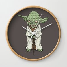 The Dark Side I Sense In You Wall Clock