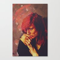Afterimage Canvas Print