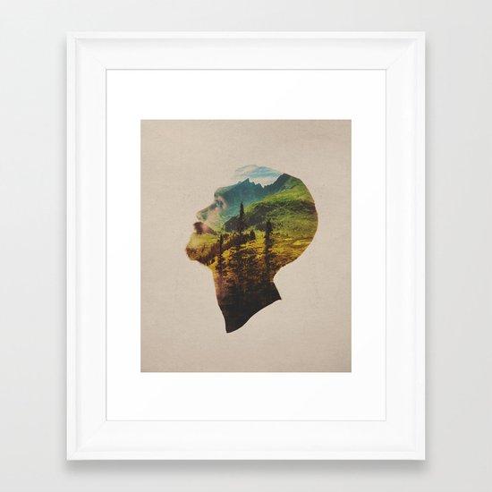 Out Of Mind Framed Art Print