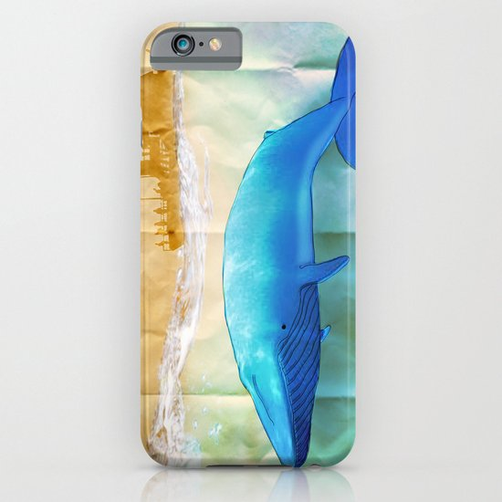 the beauty beneath _ humpback whale iPhone & iPod Case