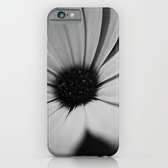 Black Daisy iPhone & iPod Case