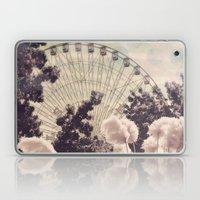 Cotton Candy Wheel Laptop & iPad Skin
