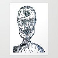 Self28610 Art Print