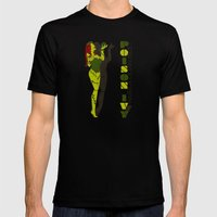 Poison Ivy Mens Fitted Tee Black SMALL