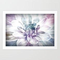 water color flower Art Print