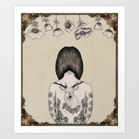 something flowery  Art Print