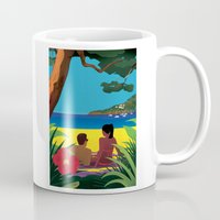 A Shaded Beach Mug