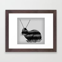 Fuzzy Reception Framed Art Print