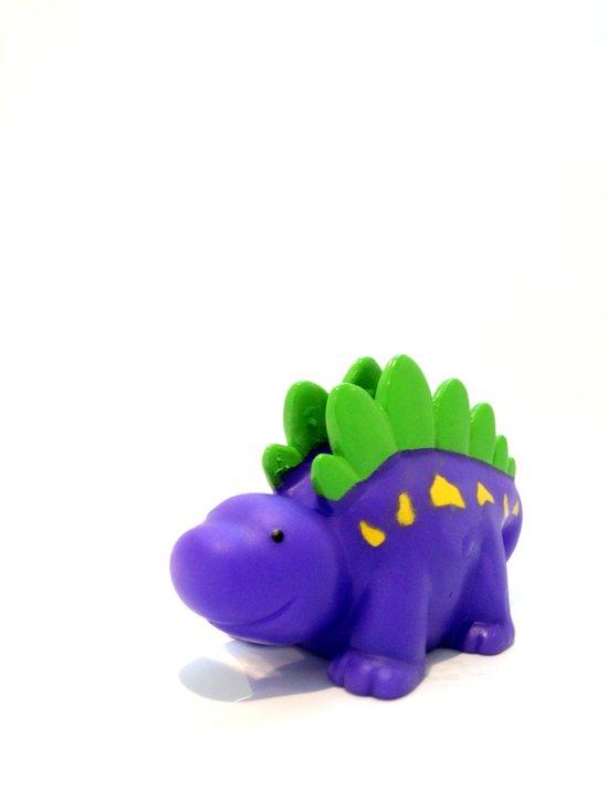 Happy Purple Dinosaur Art Print