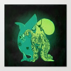 Oceanic INK Canvas Print